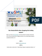 USHLI - Support USHLI This Holiday Season