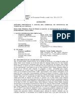 acusación falsificación documento privado