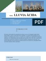 LLUVIA ACIDA HON