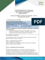 Guia de actividades y rúbrica de evaluación - Unidad 3 - Fase 4 - Contaminación del aire