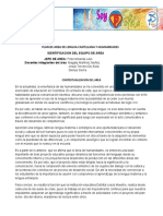 PLAN DE AREA ESPAÑOL 6 A 8