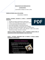 TRABAJO PRACTICO DE FORMACION ETICA ADOLESCENCIA