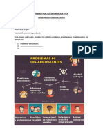 TRABAJO PRACTICO DE FORMACION ETICA problemas adolescencia