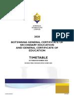 2020 - BGCSE Revised Timetable - Final Version  as on  26.05.2020.pdf
