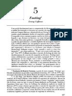 Footing - Goffman em português