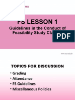 FS LESSON 1 GUIDELINES IN THE CONDUCT OF FEASIBILITY STUDY CLASSES.ppt