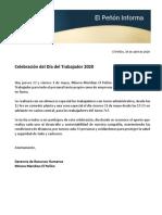 EPI Celebracion Día Trabajador 2020