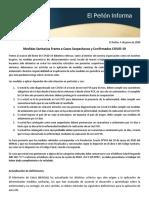EPI Medidas Sanitarias Frente a Casos Sospechosos y Confirmados 04-06-2020