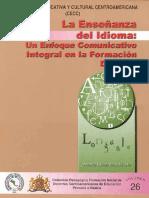 La Enseñanza del Idioma  Un Enfoque Comunicativo Integral en la Formacion Docente.pdf