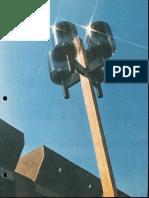 Spaulding Lighting Sculptura (Barrel) Spec Sheet 1975