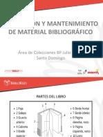 REPARACIÓN Y MANTENIMIENTO DE MATERIAL BIBLIOGRÁFICO