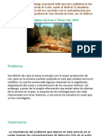 PAPER PPT Impact of the gold mining associated with mercury
