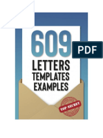 609 Letters