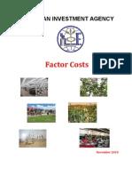 Ethio Invest FACTOR COSTS