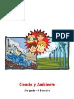Ciencia y Ambiente 5to grado I Bim