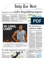 The Daily Tar Heel for February 7, 2011