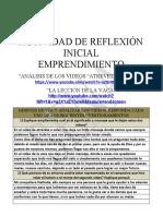 1. Actividad No. 1 Analisis y reflexion de los videos de emprendimiento