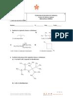 Examen de Quimica Orgánica Hidrocarburos Alifáticos y Cíclicos 2 (1)