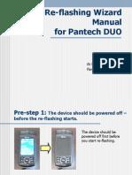 Pantech DUO - Re-flashing Wizard Manual