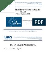 21 Procesamiento Digital de Senales - Filtros Digitales I FIR