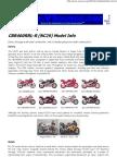 Cbr400rr (Nc29) Model Info