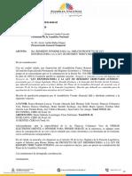 4. Informe de Primer Debate del Proyecto de Ley Reformatoria a la Ley de Régimen Tributario Interno