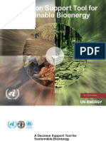 Decision Support Tool for Sustainable Bioenergy (2010)
