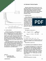 On Albersheim's Detection Equation
