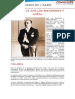 GOBIERNO DE JOSE LUIS BUSTAMANTE Y RIVERO