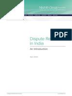 nda Dispute_Resolution_in_India