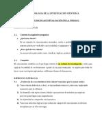 METODOLOGIA DE LA INVESTIGACIÓN CIENTIFICA 111111111111