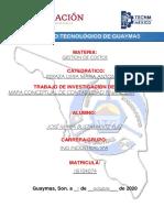 mapa conceptual contabilidad financiera