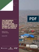 TheInformalEconomyinUlaanbaatar