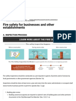 Fire safety for businesses and other establishments _ Official Gazette of the Republic of the Philippines