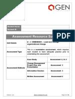 2 - BSBINN601 (SV) Lead and Manage Organizational Change