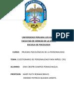 informe psicologico test C.P.Q. Erik campos.2