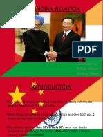 Relation bw indo-china