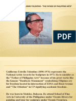 LIFE AND WORKS OF GUILLERMO TOLENTINO - -THE FATHER OF PHILIPPINE ARTS-