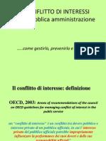 Assemblea ISS del 31.01.11 - Conflitto interessi Pubblica Amministrazione