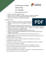 Recomendações para os Conselhos de Turma - Avaliação - maio- 2019