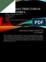 Reformas tributarias en Colombia