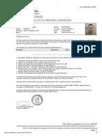 Carta de Afiliación