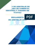 REGLAMENTO DEL CENTRO - CCITU