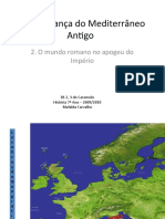 B – A Herança do Mediterrâneo Antigo -2