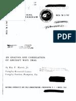 NASA TM-X947 - Harris - An Analysis and Correlation of Aircraft Wave Drag.pdf