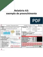 07 - Modelo Relatório A3 - PDCA