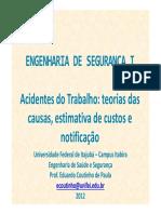 Acidentes do trablho - saúde e segurança.pdf