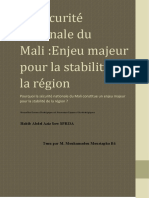 Policy Brief Mali