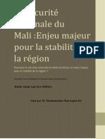 Policy Brief Mali