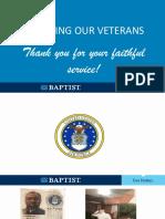 2020 BLDI Veteran Recognition